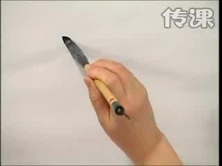 书法培训-北京诚敬仁永字八法教学视频九:点的运用二